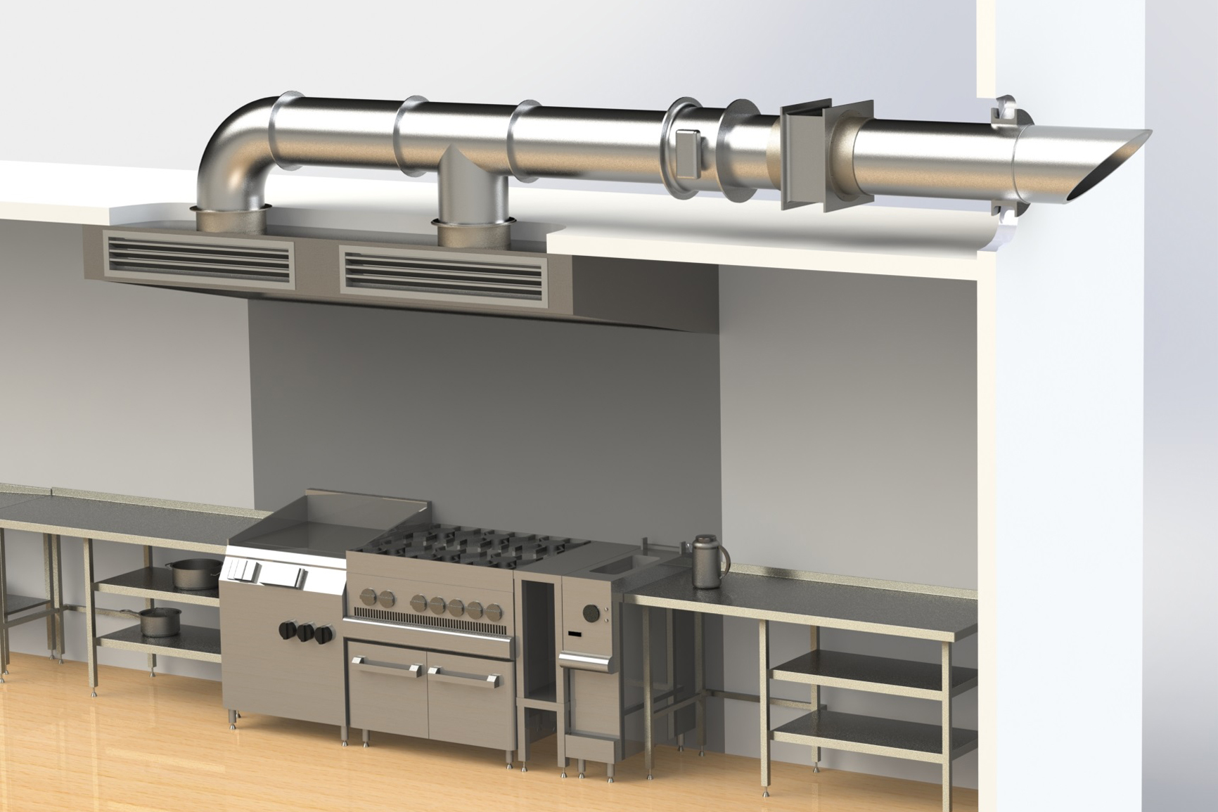 Mewna engineering pvt ltd services - Commercial kitchen exhaust system design ...